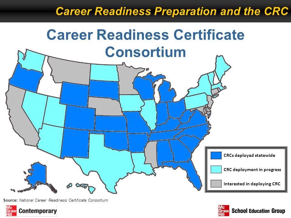 Career Readiness Certificate Consortium