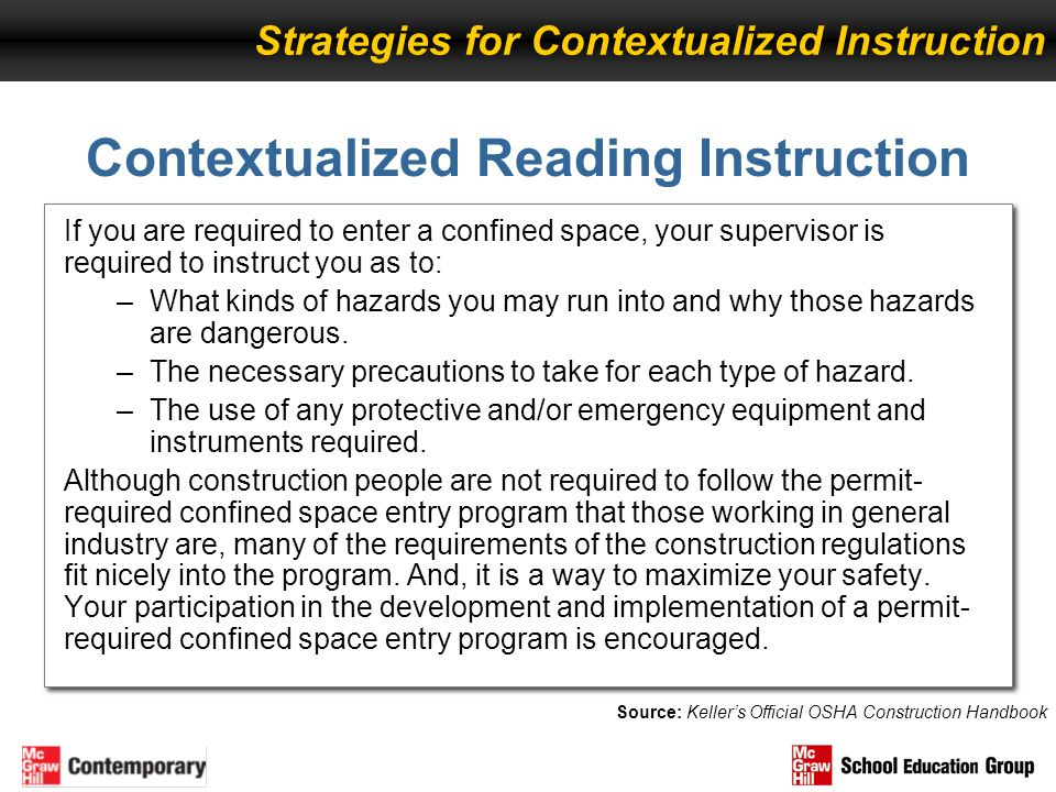 Contextualized Reading Instruction