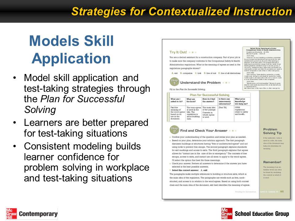 Models Skill Application