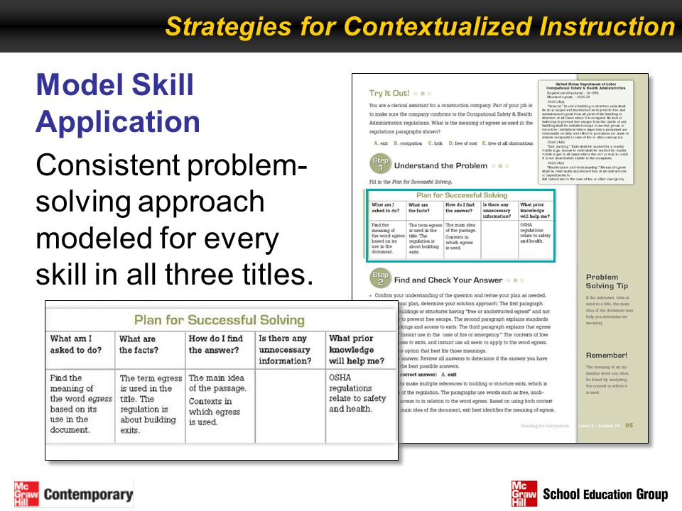 Model Skill Application