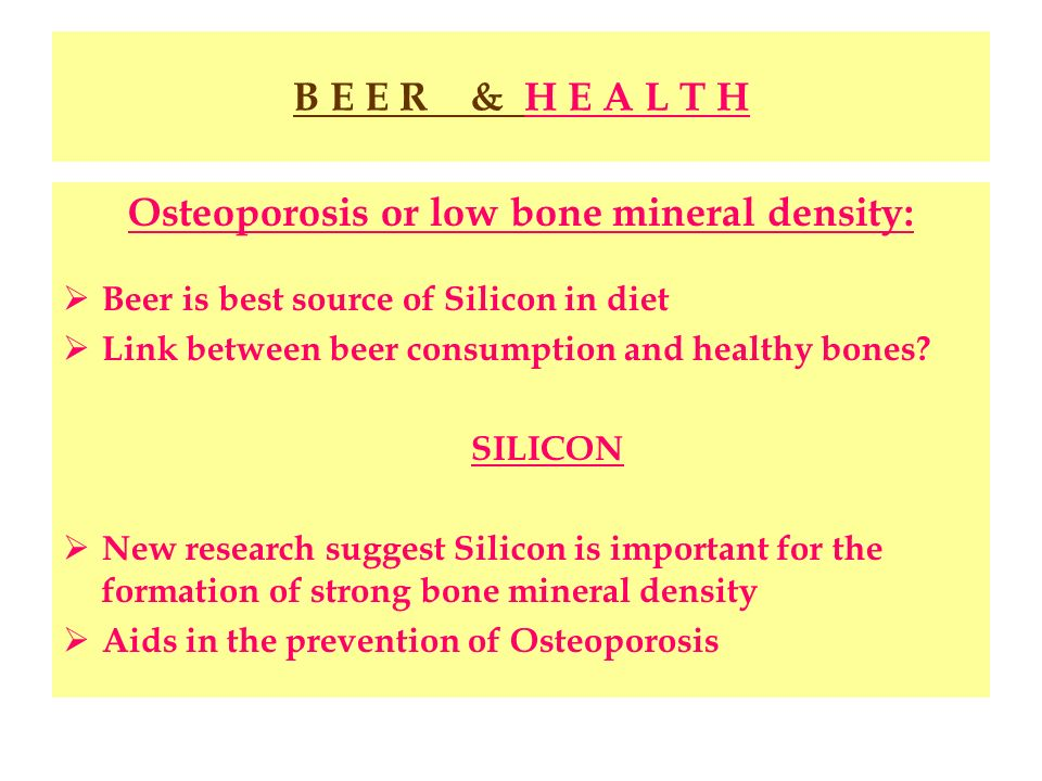 Osteoporosis or low bone mineral density: