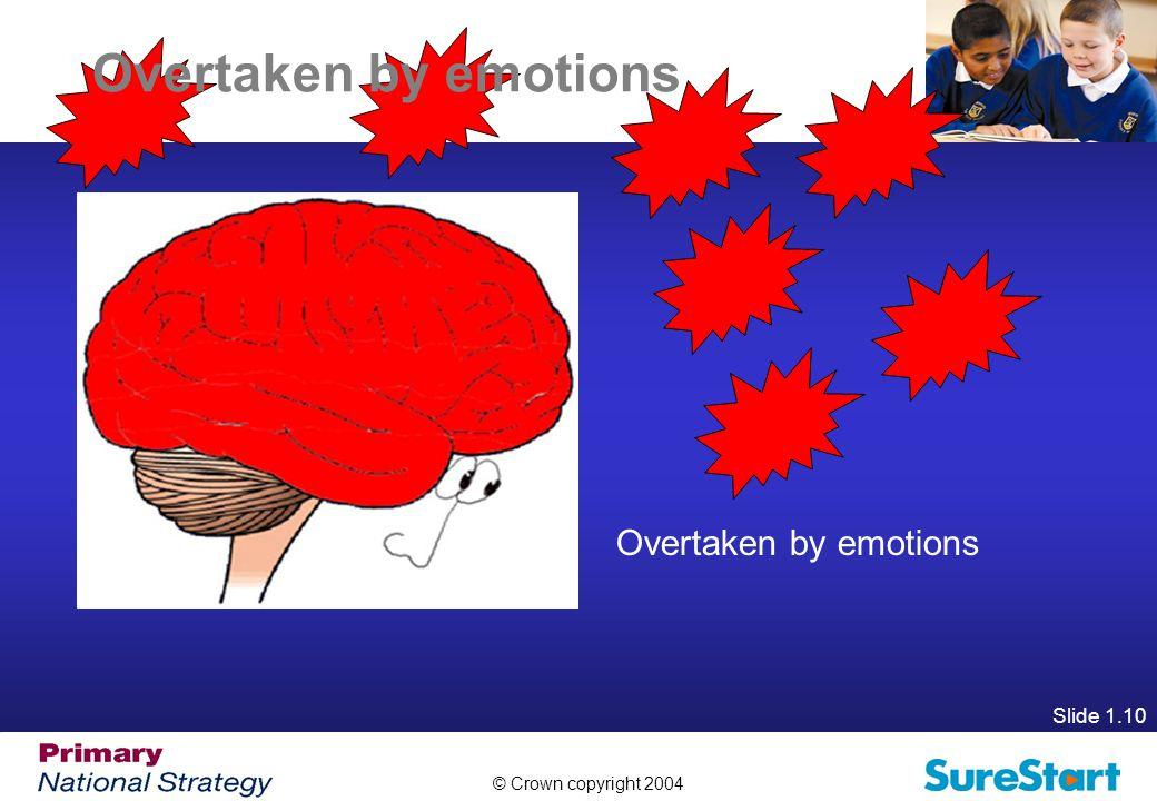 Overtaken by emotions Overtaken by emotions Slide 1.10