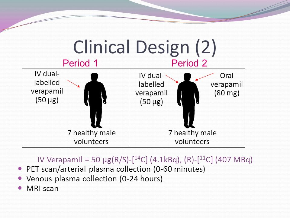 Clinical Design (2) Period 1 Period 2