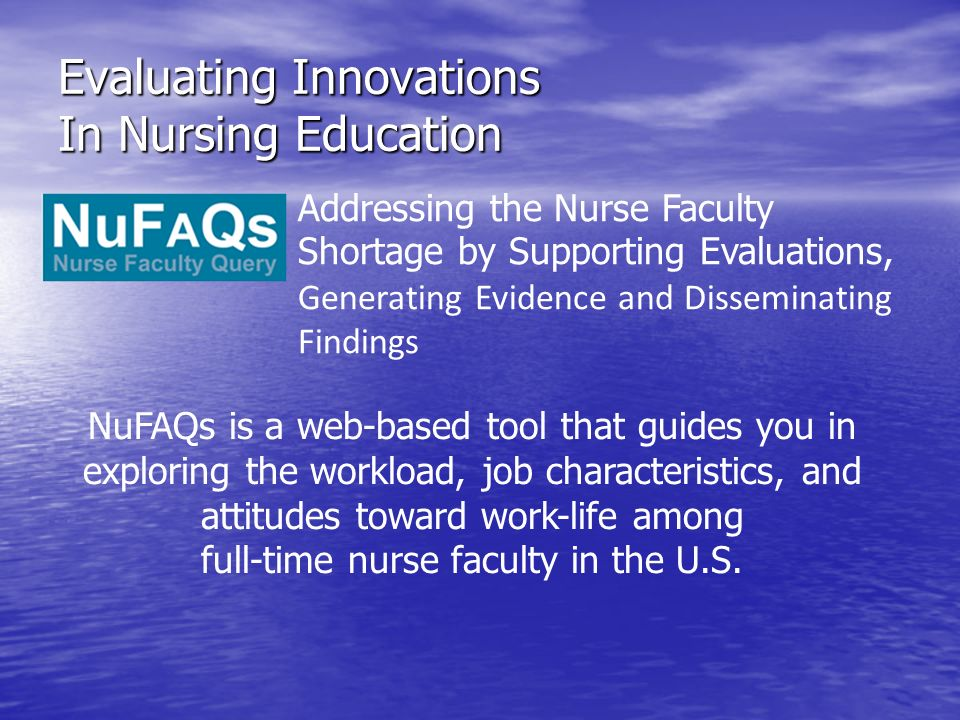 Evaluating Innovations In Nursing Education