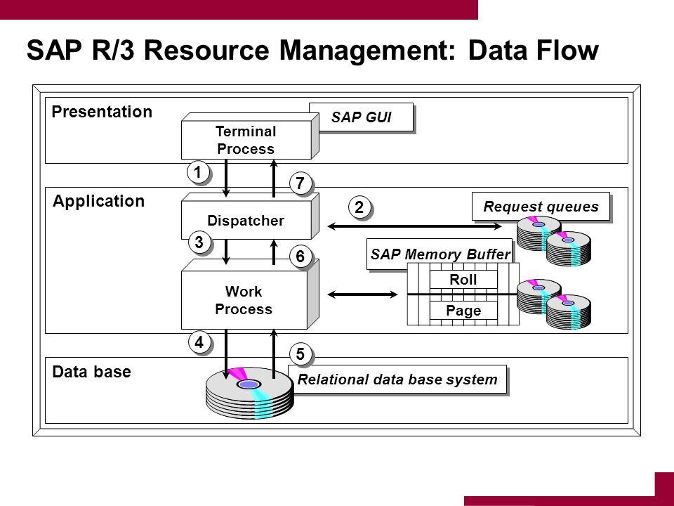 SAP R/3 Resource Management: Data Flow