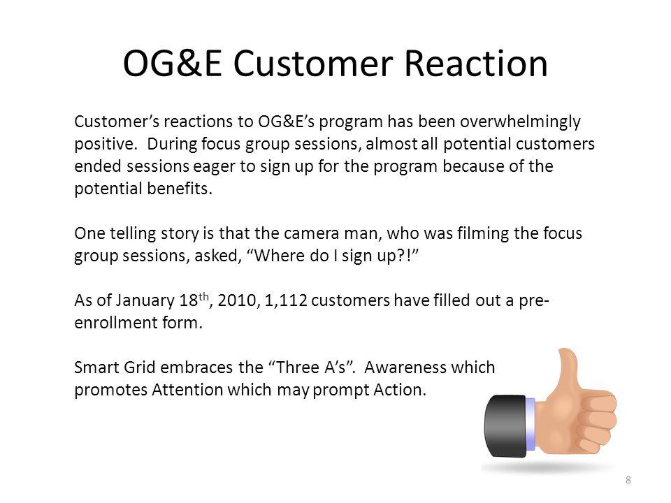 OG&E Customer Reaction