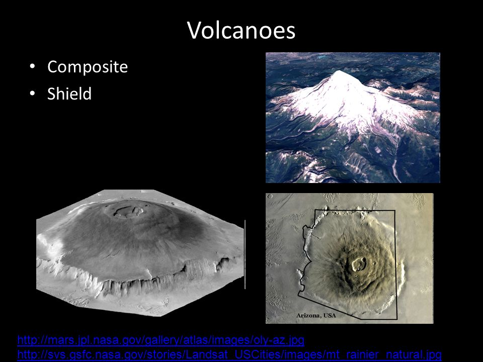 Volcanoes Composite Shield