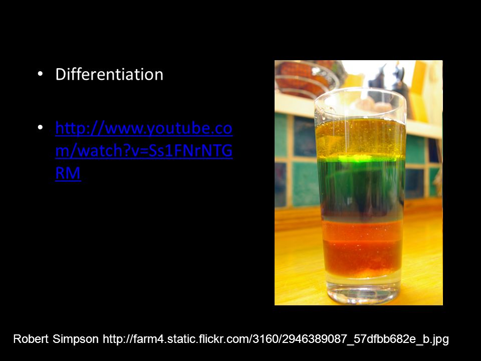 Differentiation http://www.youtube.com/watch v=Ss1FNrNTGRM