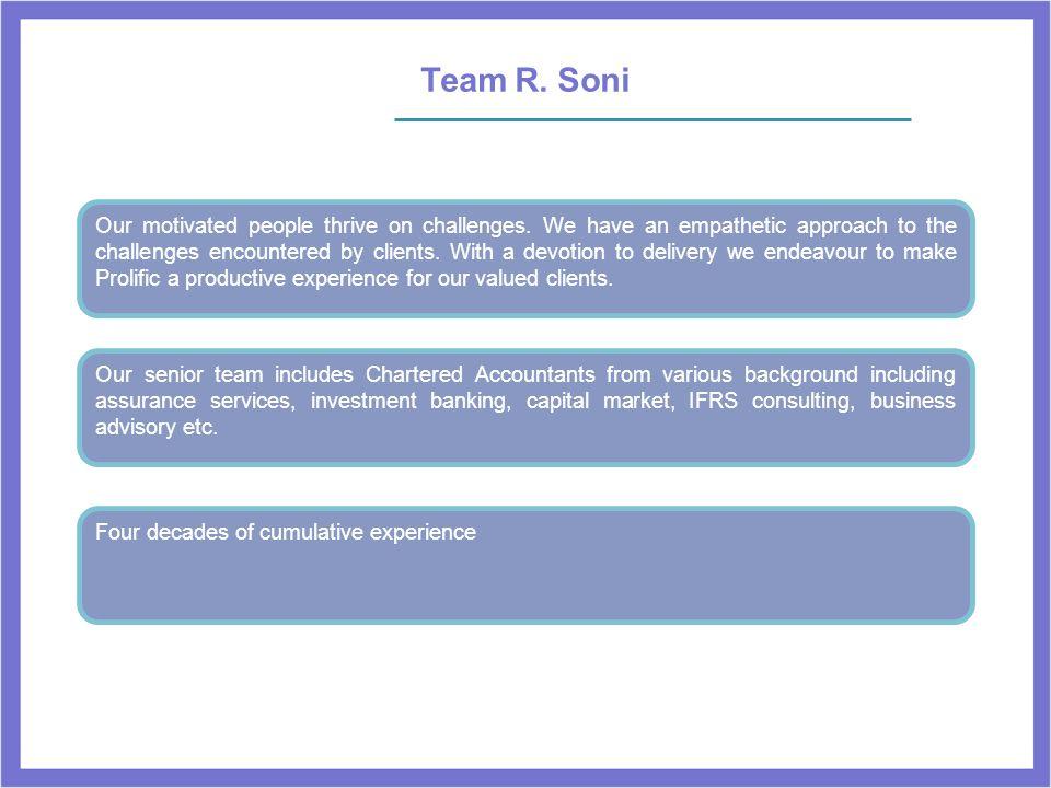 Team R. Soni