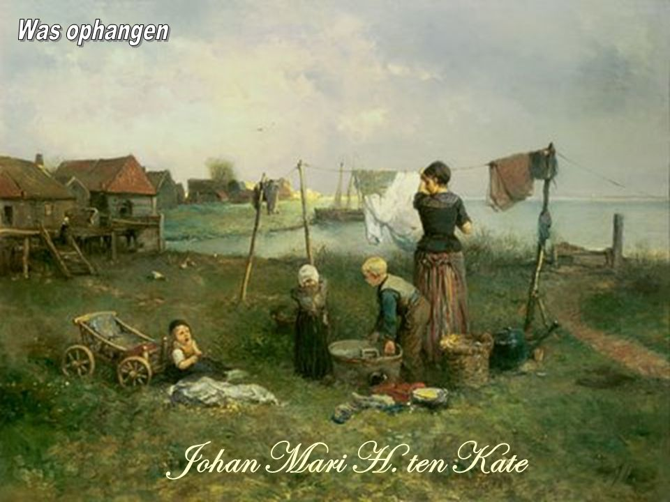 Was ophangen Johan Mari H. ten Kate
