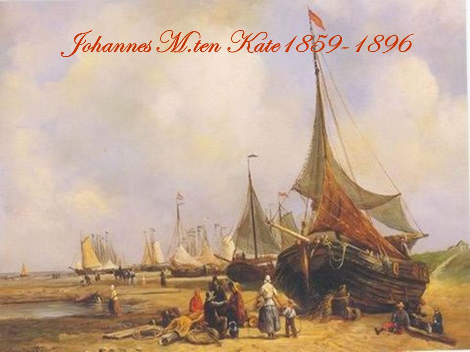 Johannes M.ten Kate1859-1896
