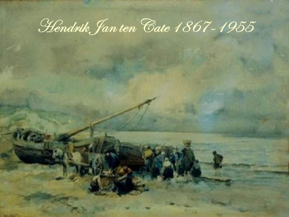 Hendrik Jan ten Cate 1867-1955