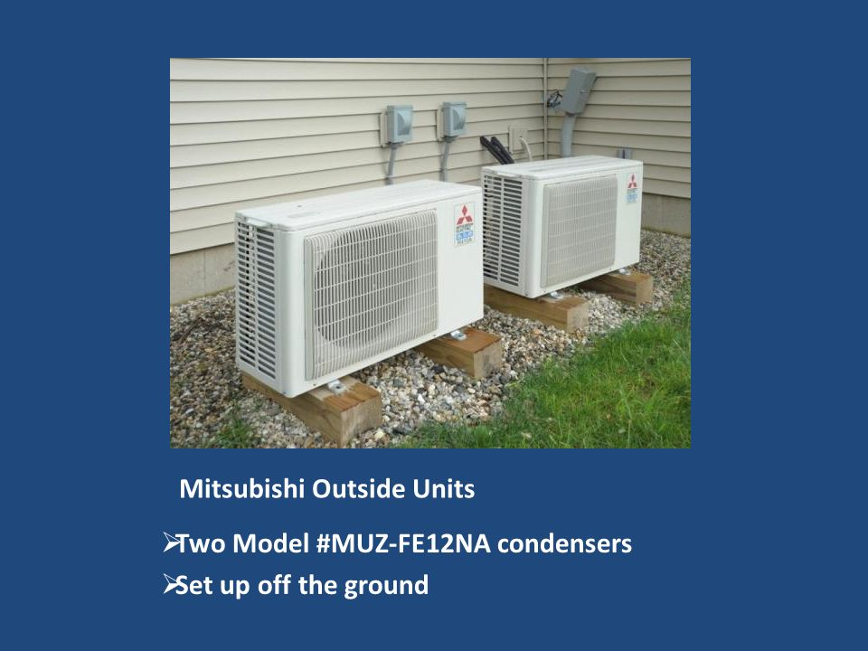Mitsubishi Outside Units