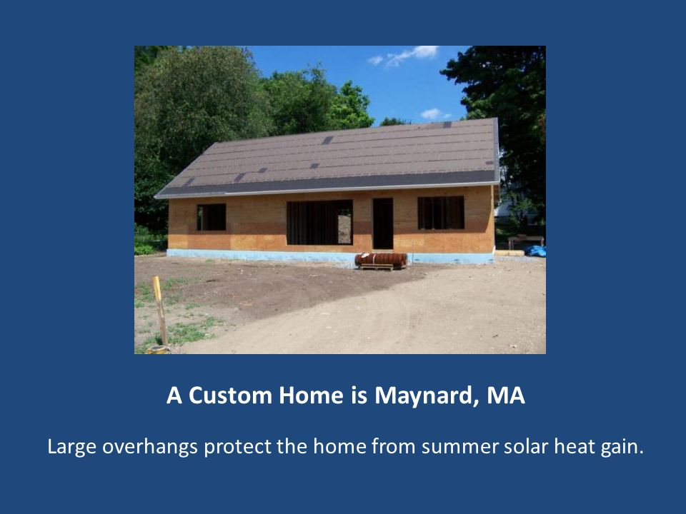 A Custom Home is Maynard, MA