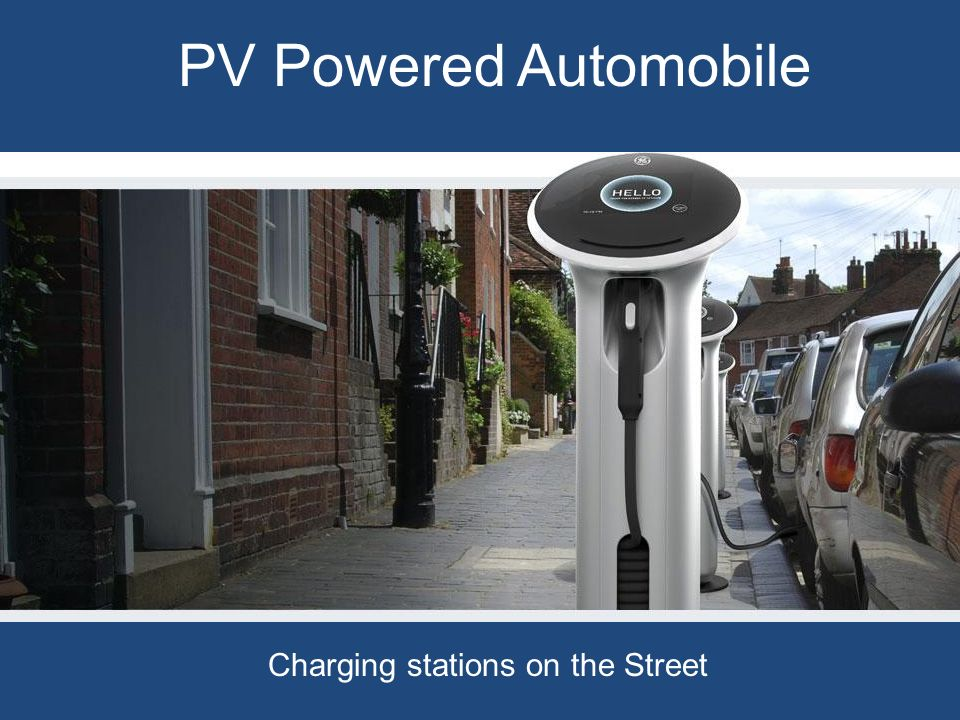 Charging stations on the Street