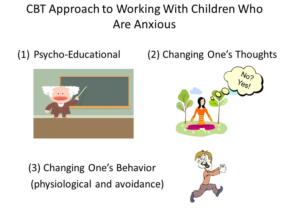 CBT Approach to Working With Children Who Are Anxious