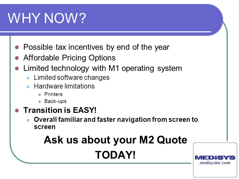 Ask us about your M2 Quote