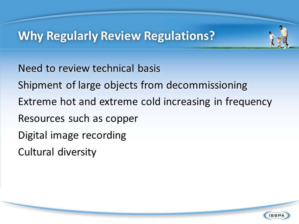 Why Regularly Review Regulations