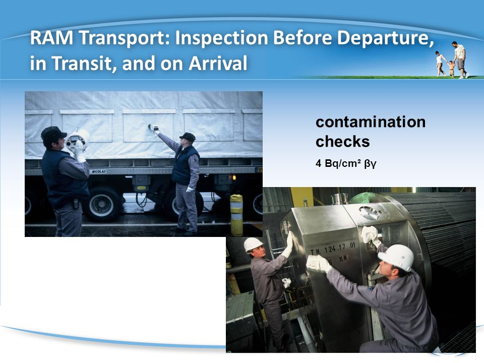 RAM Transport: Inspection Before Departure, in Transit, and on Arrival