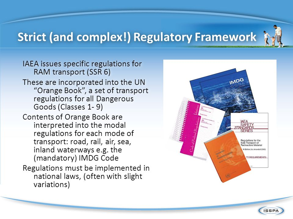 Strict (and complex!) Regulatory Framework