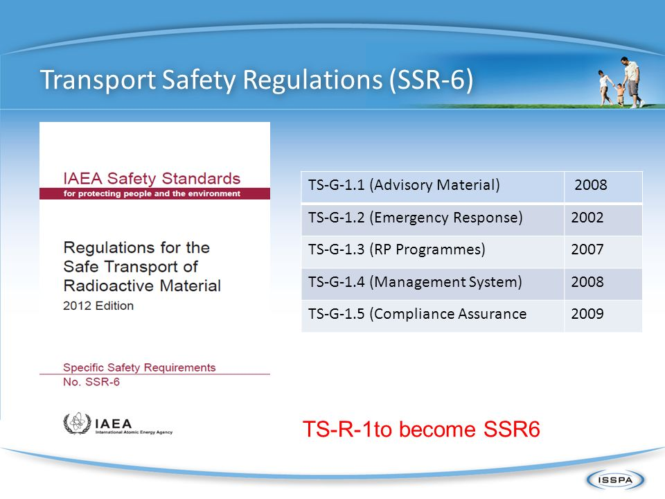 Transport Safety Regulations (SSR-6)