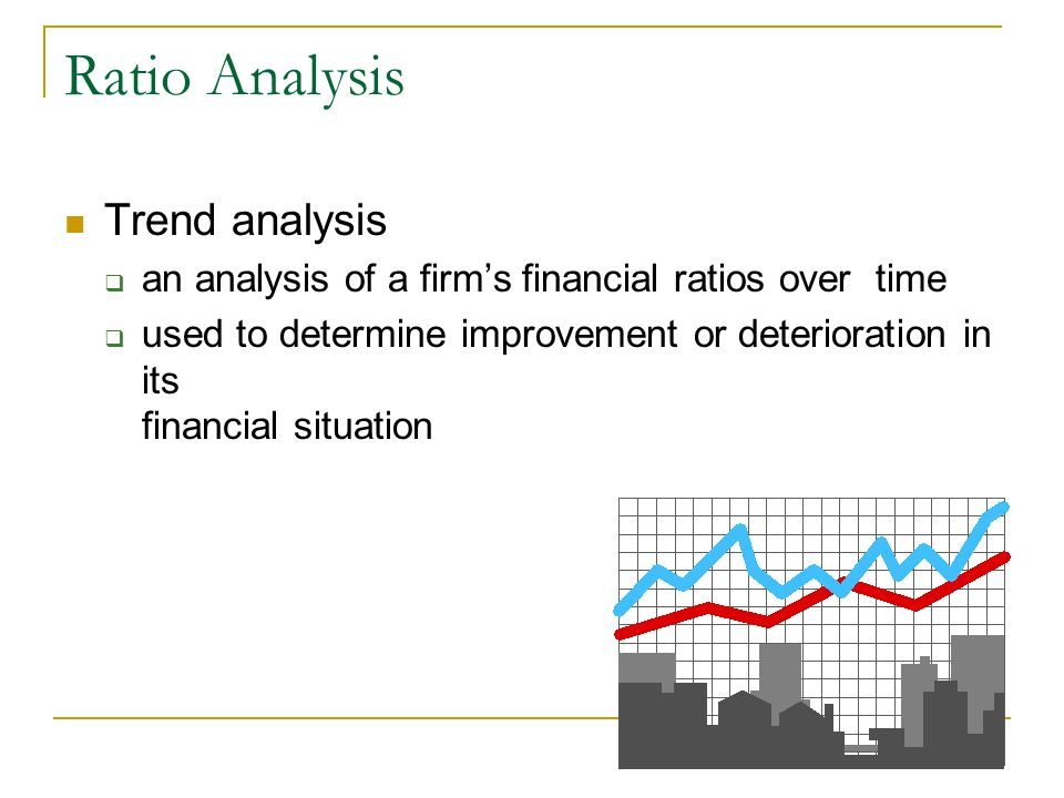 Ratio Analysis Trend analysis