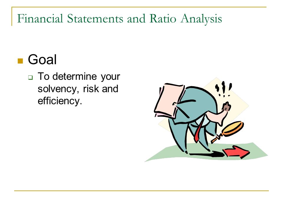 Financial Statements and Ratio Analysis