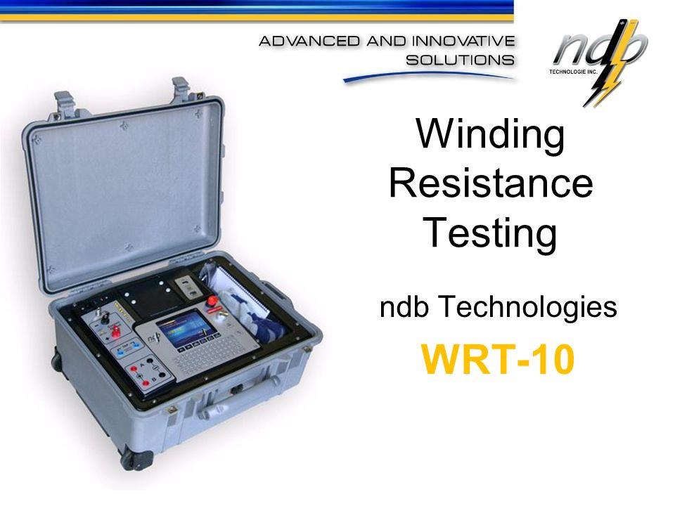 Winding Resistance Testing