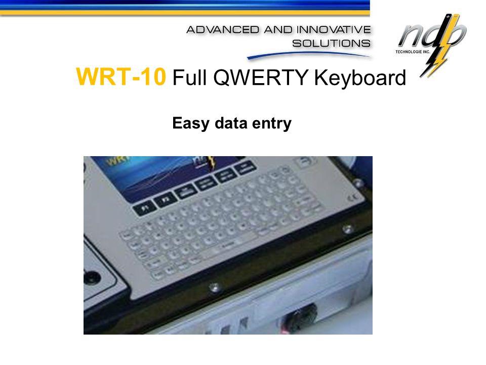 WRT-10 Full QWERTY Keyboard