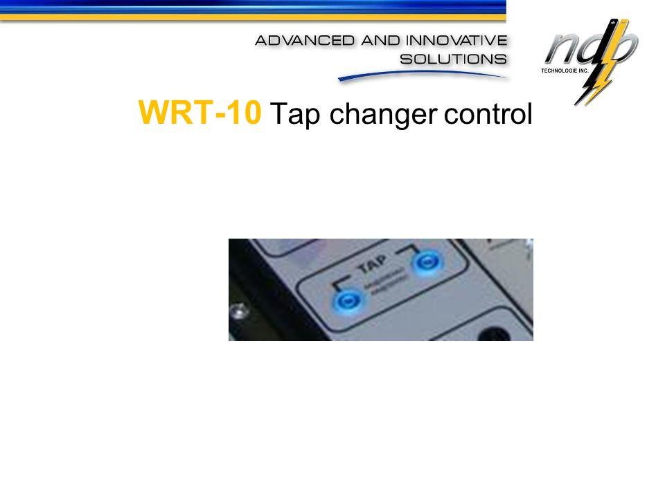 WRT-10 Tap changer control