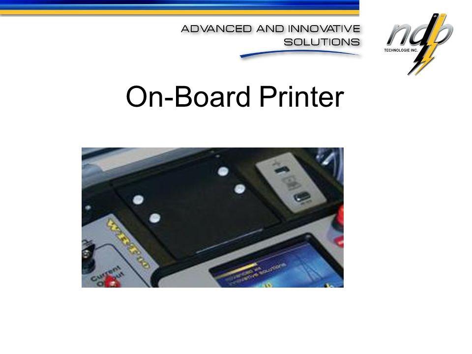 On-Board Printer