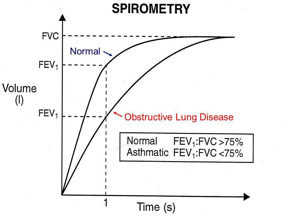 Normal Obstructive Lung Disease