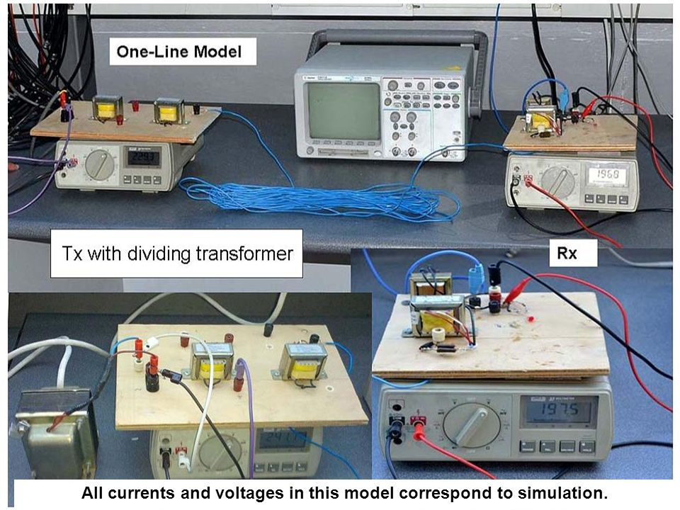 All currents and voltages in this model correspond to simulation.