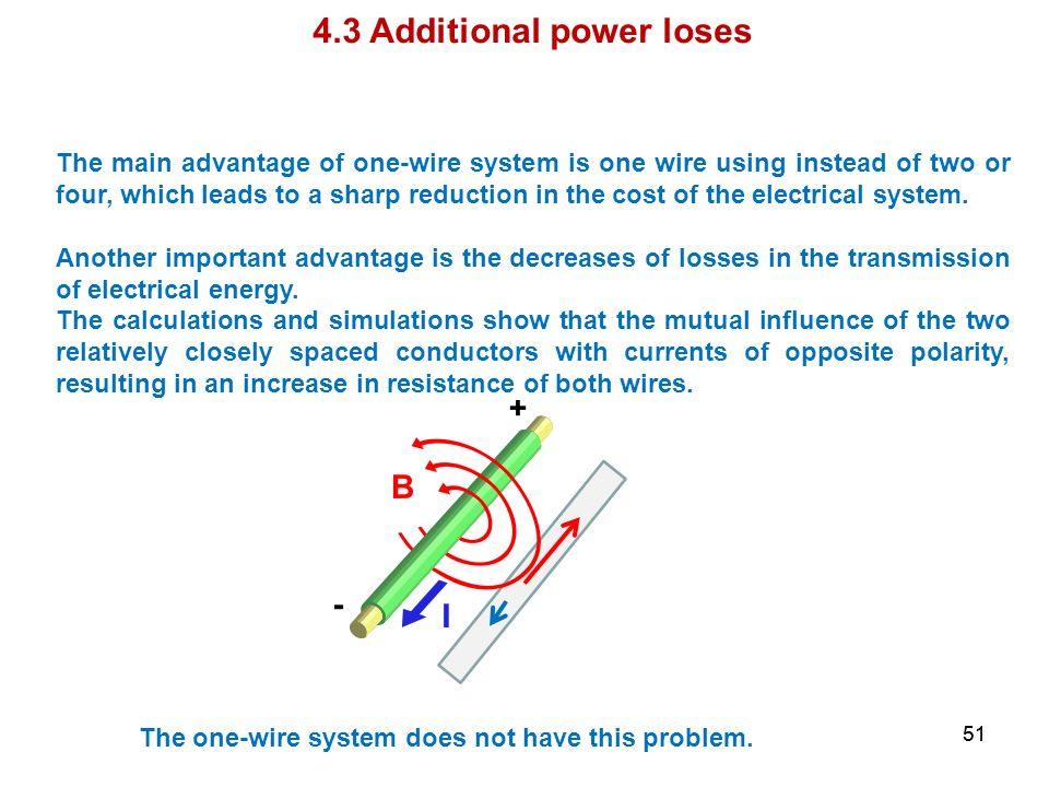 4.3 Additional power loses
