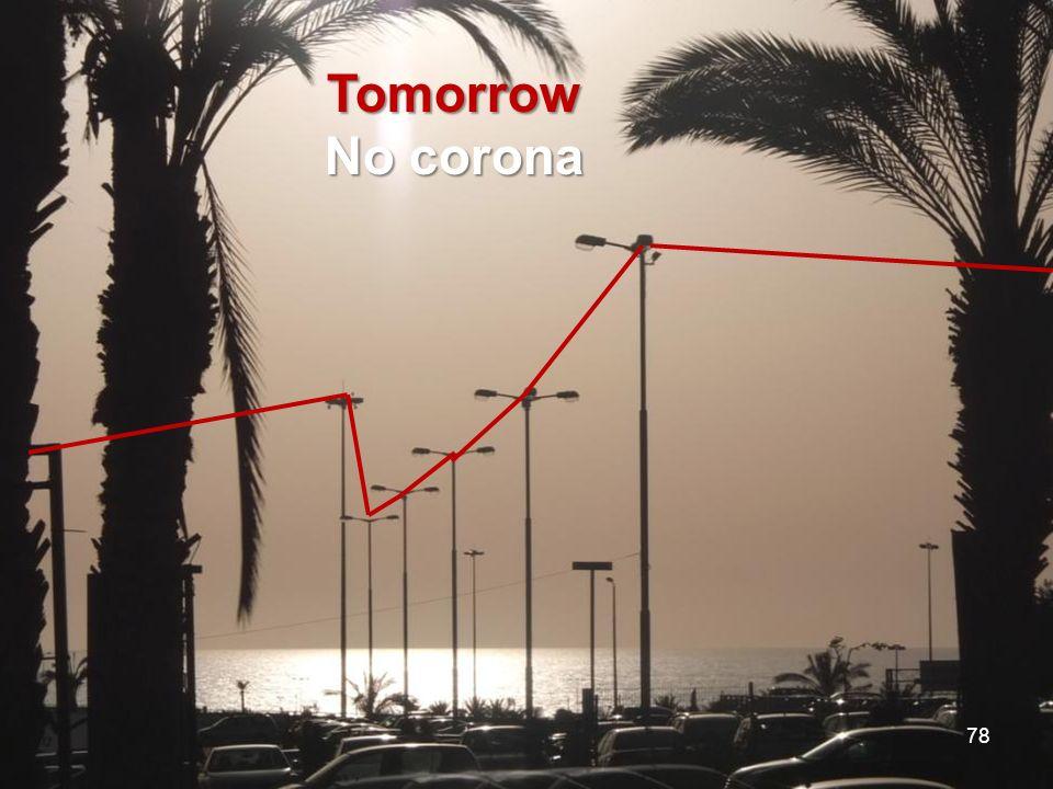 Tomorrow No corona