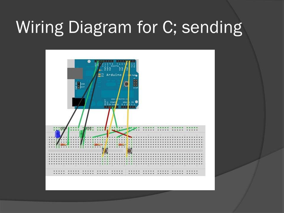 Wiring Diagram for C; sending