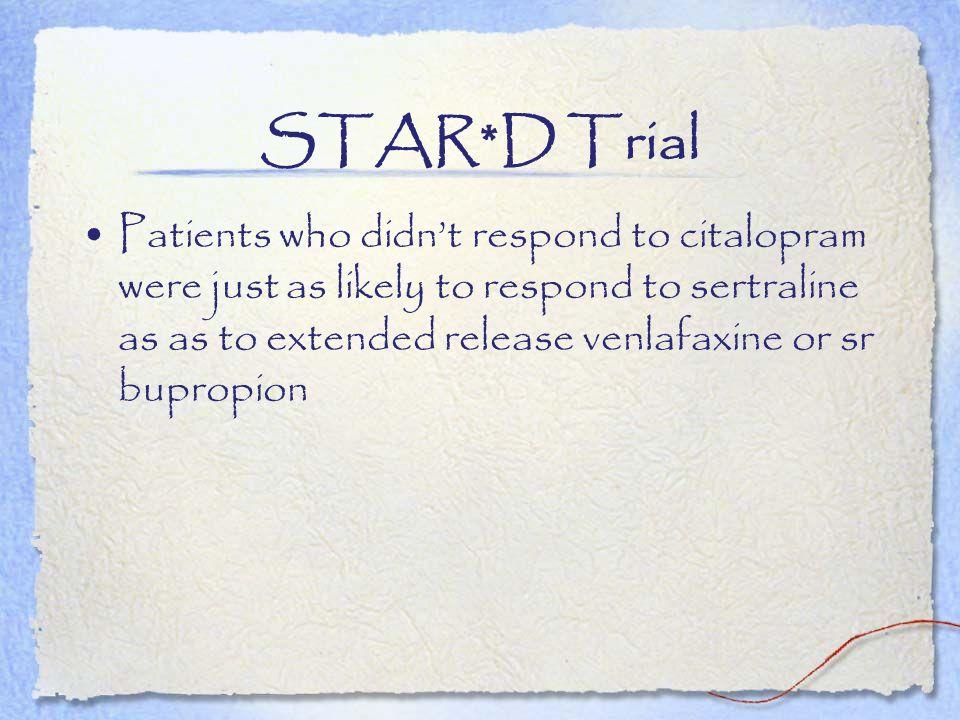 STAR*D Trial