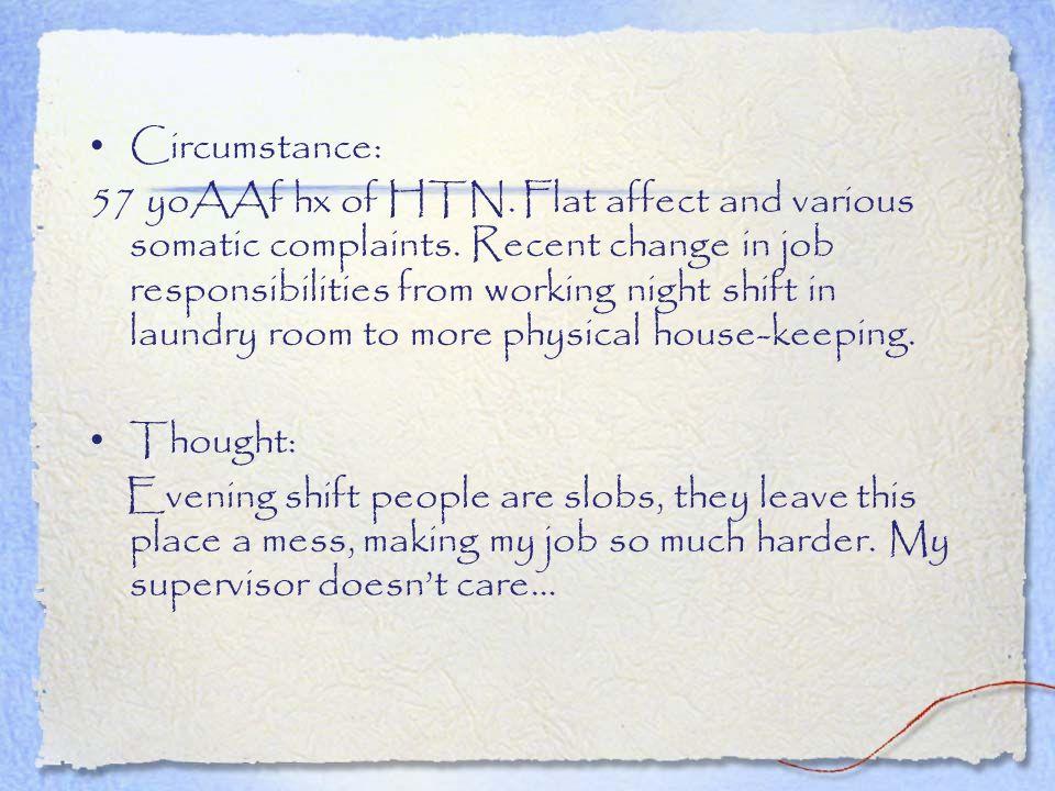 Circumstance: