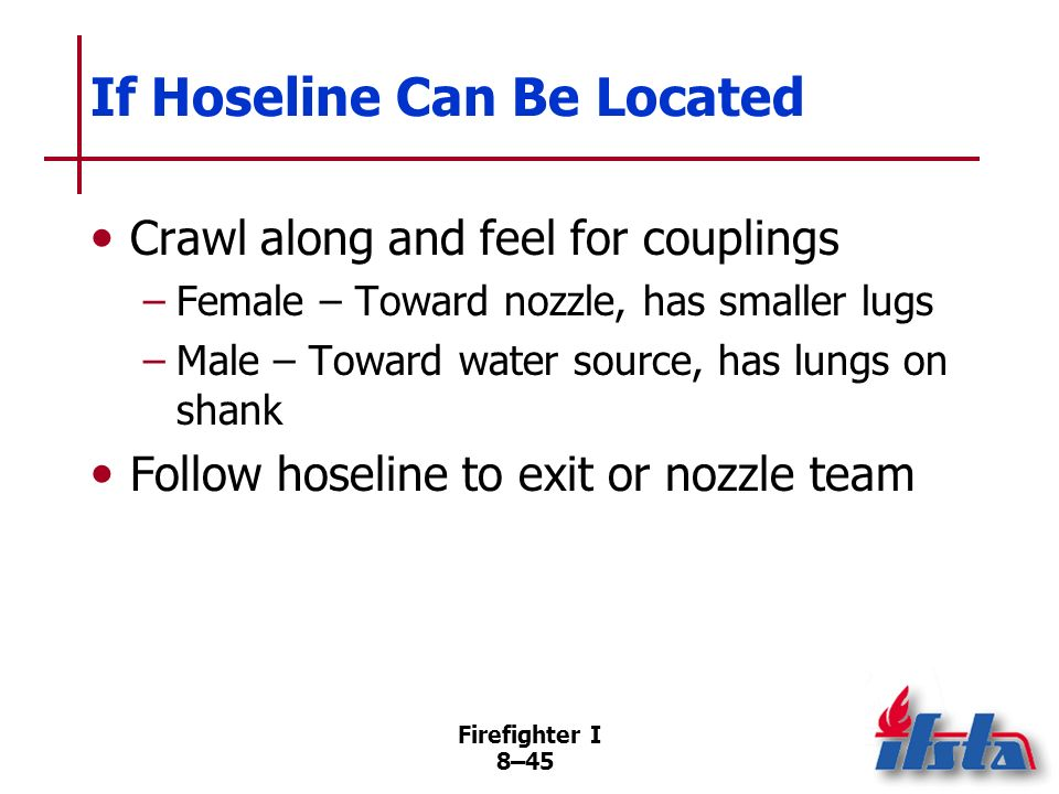 If Hoseline Can Be Located