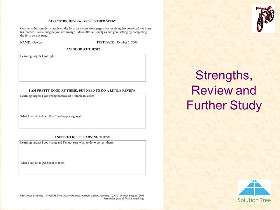 Strengths, Review and Further Study