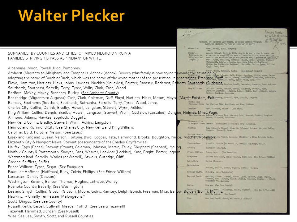 Walter Plecker
