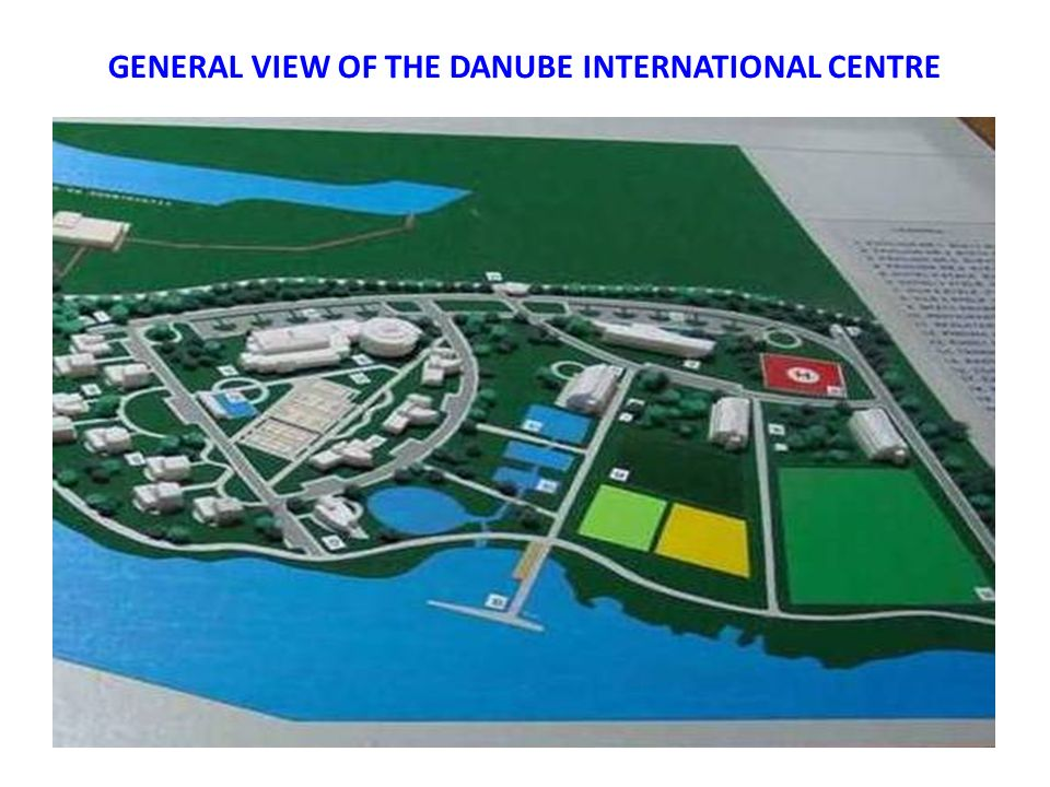 GENERAL VIEW OF THE DANUBE INTERNATIONAL CENTRE