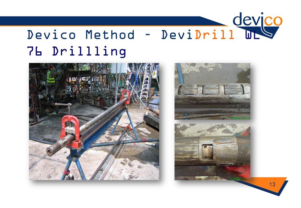 Devico Method – DeviDrill WL 76 Drillling