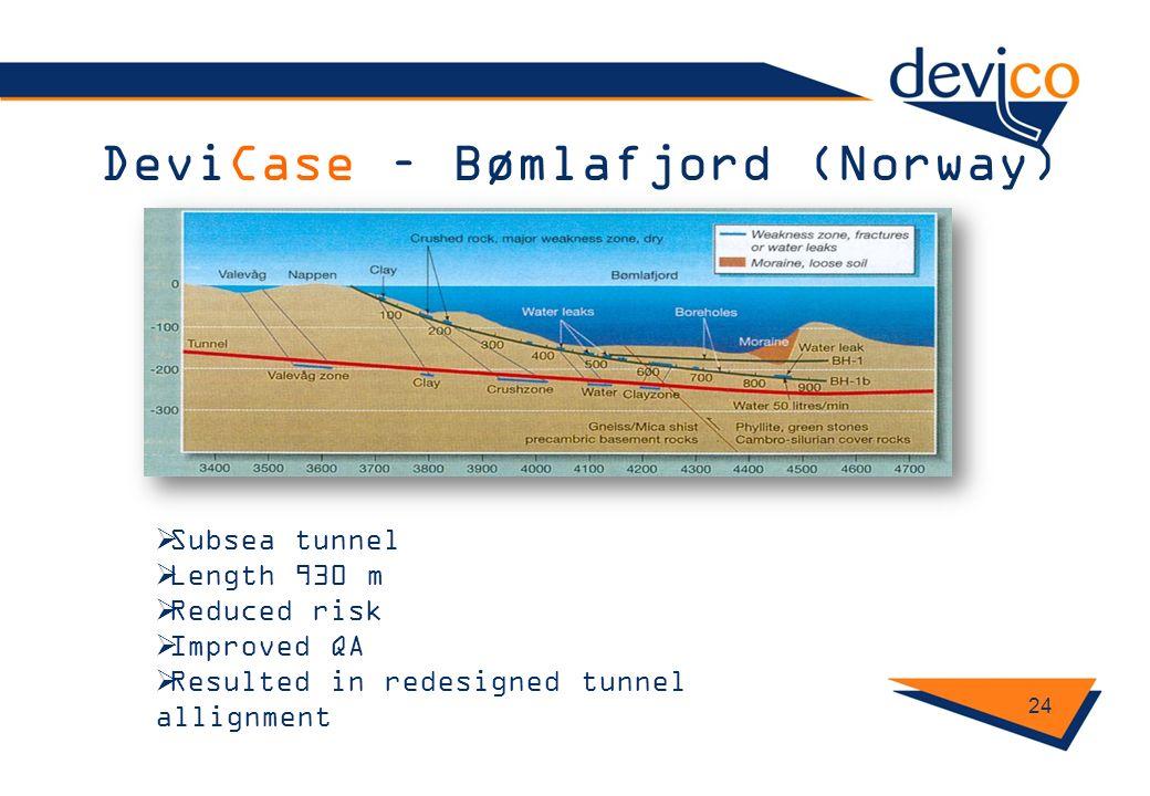 DeviCase – Bømlafjord (Norway)