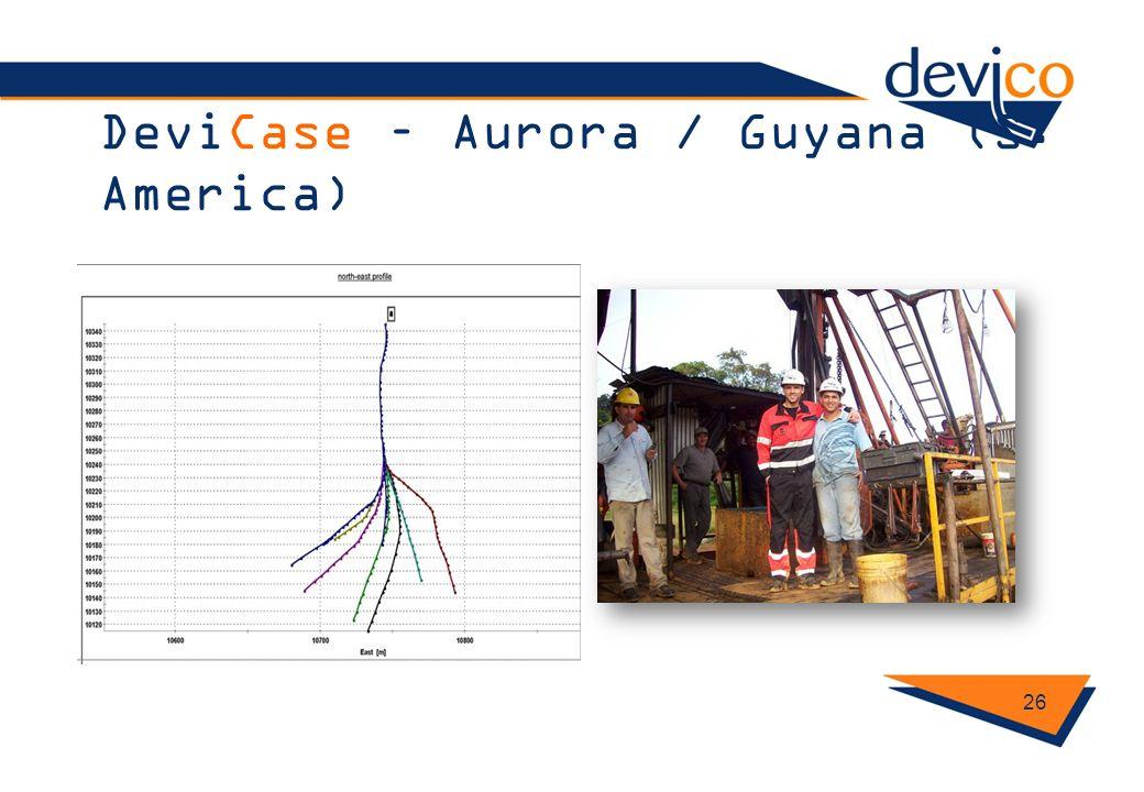 DeviCase – Aurora / Guyana (S. America)