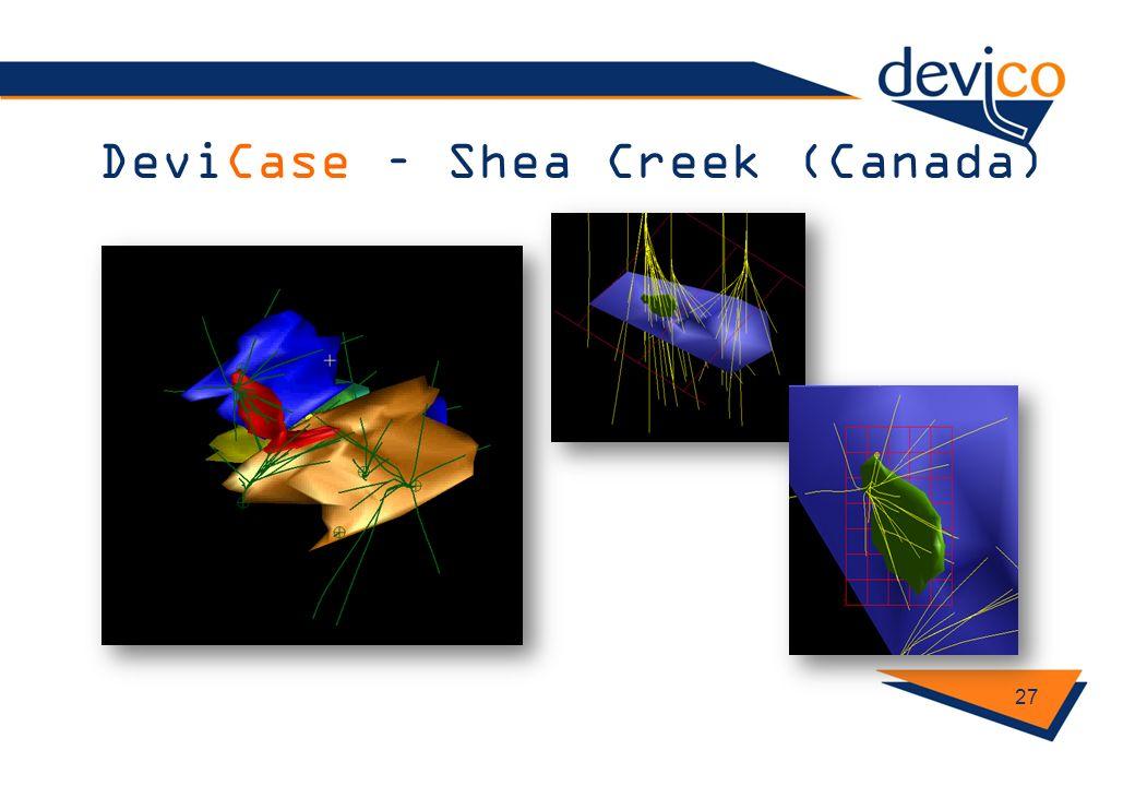DeviCase – Shea Creek (Canada)