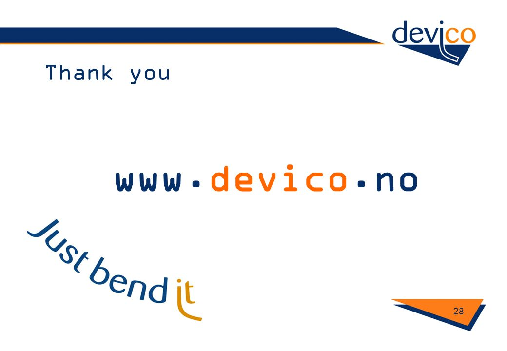Thank you www.devico.no