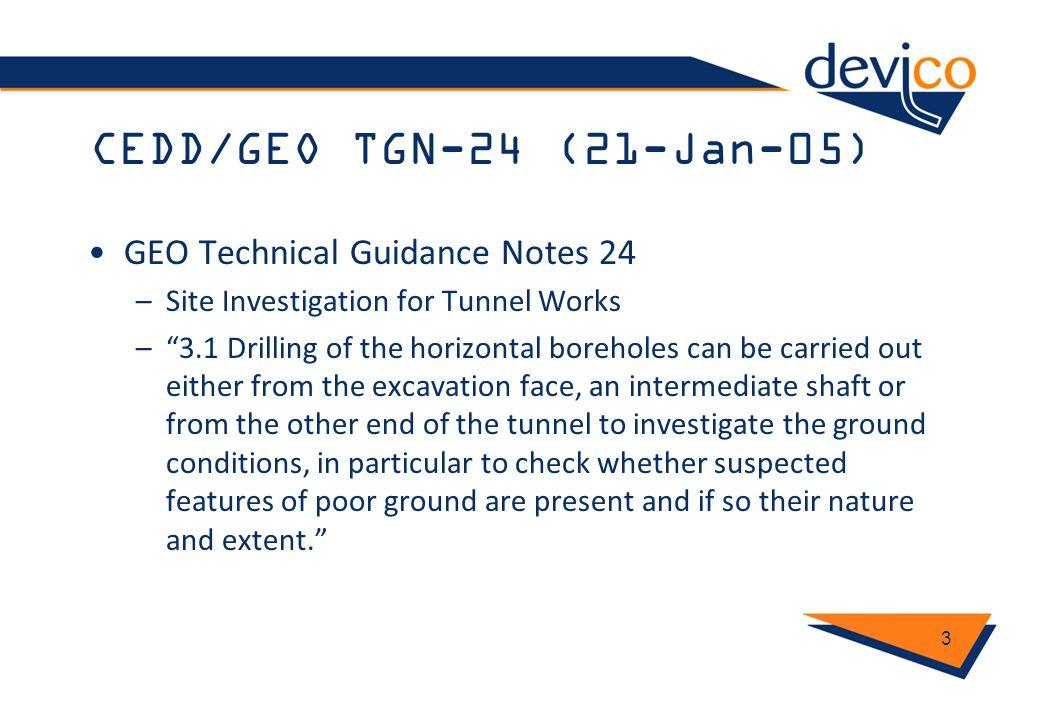 CEDD/GEO TGN-24 (21-Jan-05) GEO Technical Guidance Notes 24