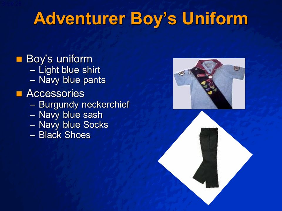 Adventurer Boy's Uniform
