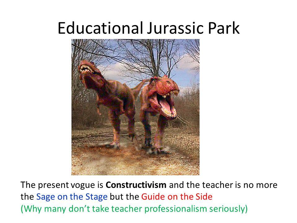 Educational Jurassic Park